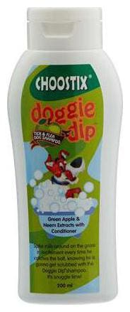 Choostix Dog Shampoo Tick and Flee  200 ml