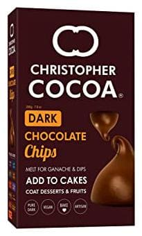 Christopher Cocoa Dark Chocolate Chips 200g