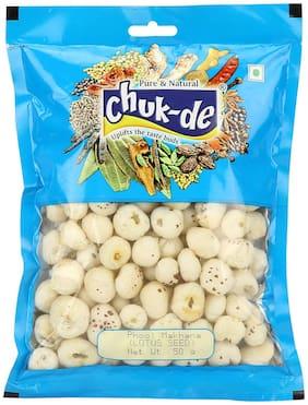 Chukde Spices Phool Makhana Plain (Lotus Seeds/Fox Nuts) 50 g