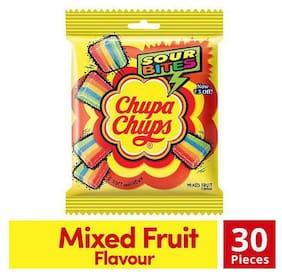 Chupa Chups Sour Bites - Mixed Fruit Flavour 30 pcs 61.6 g