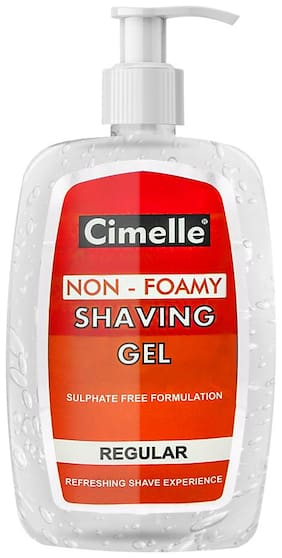 Cimelle Non- Foamy Shaving Gel Regular,500ml