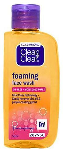 Clean & Clear Foaming Face Wash 50 ml