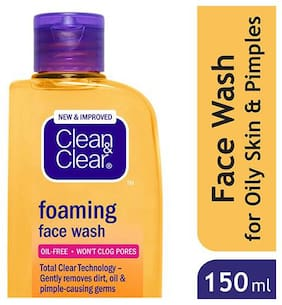 Clean & Clear Face Wash Foaming 150 ml