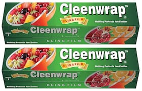 Cleen Wrap Cling film 30 m pack of 2 (30x2=60 m)