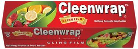Cleen Wrap Cling Film Plastic Wrap (100 m)