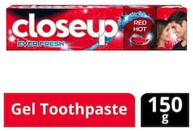 Close Up Ever Fresh Red Hot Gel Toothpaste  150 g