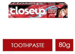 Close Up Ever Fresh Red Hot Gel Toothpaste 80 g