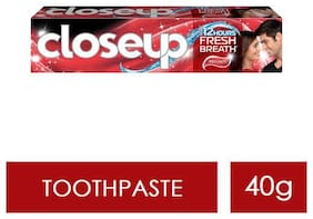 Close Up Ever Fresh Red Hot Gel Toothpaste 40 g