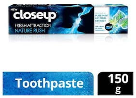 Closeup Toothpaste - Fresh Attraction Nature Rush Gel 150 g