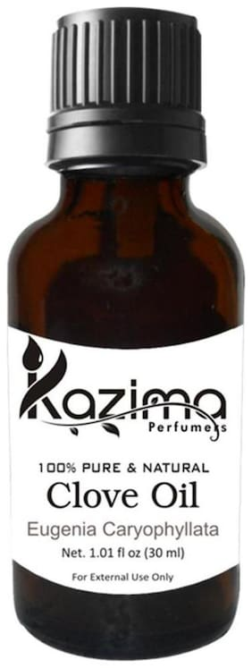 Kazima Clove Essential Oil (30Ml) 100% Pure Natural & Undiluted Oil