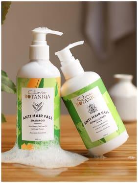 Clovia Botaniqa Anti Hair Fall Shampoo & Conditioner- (Shampoo -300-ml & Conditioner -250ml) Pack of 2