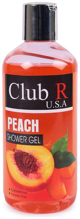 Club R U.S.A Peach Shower Gel-300ml