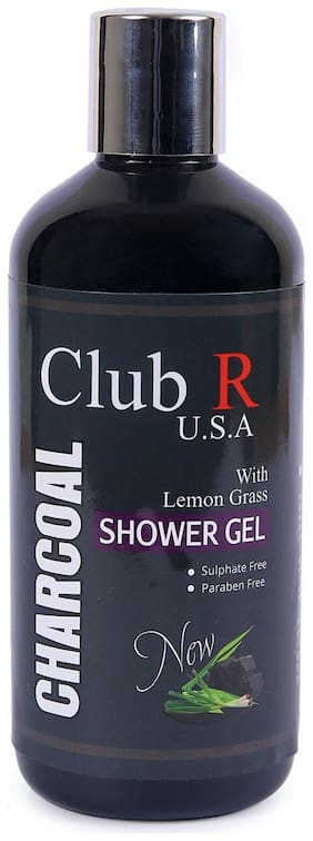 Club R U.S.A Charcoal Shower Gel-300ml