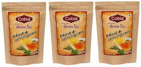 Cobia Green Tea(Mint + Lemongrass) 100 g Pouch (Pack Of 3)