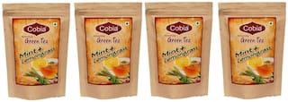 Cobia Green Tea(Mint + lemongrass ) 100g leaves pack of 4
