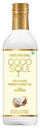 Coco Soul Cold Pressed Natural Virgin Coconut Oil 1 lt