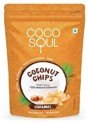 Coco Soul Coconut Chips - Caramel 33 gm