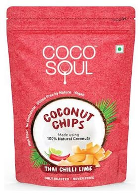 Coco Soul Coconut Chips - Thai Chilli Lime 33 gm