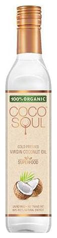 Coco Soul Virgin Coconut Oil - Cold Pressed  Organic 500 ml