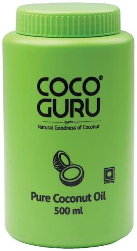 Cocoguru Roasted Coconut Oil - Wide Mouth Jar 500 ml