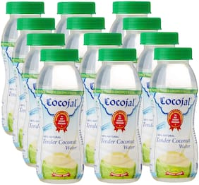 CocoJal - 100 % Natural Tender Coconut Water-200ml (Pack of 12)
