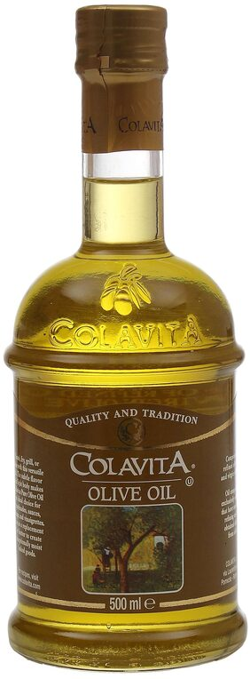 Colavita 100% Authentic Italian Naturally Pure Olive Oil 500 ML