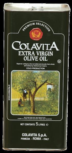 Colavita 100% Authentic Extra Virgin Olive Oil 5 Litre   European Version