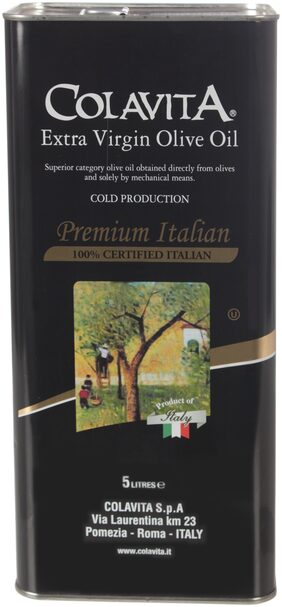 Colavita 100% Authentic Italian Extra Virgin Olive Oil 5 Litre