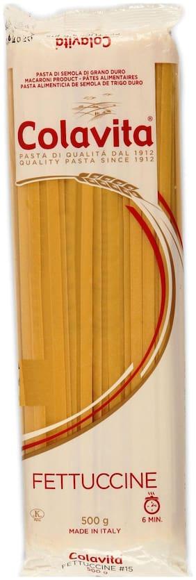 Colavita Fettuccine Pasta 500 g (Durum Wheat Pasta)