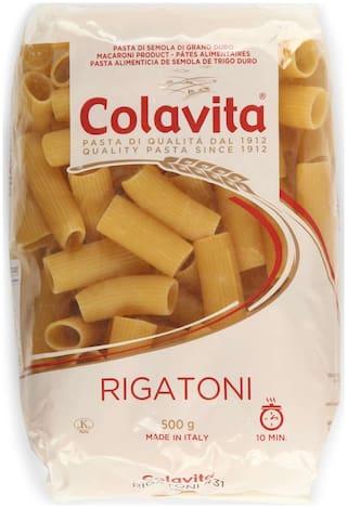 Colavita Rigatoni Pasta 500 g (Durum Wheat Pasta)