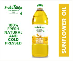 Swasthika Cold Pressed Sunflower Oil 1L