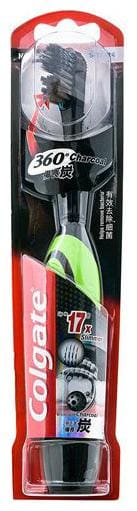 Colgate 360 Degree Charcoal Battery Powered Toothbrush 1 pc