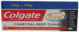 Colgate Charcoal Deep Clean 2*120 gm