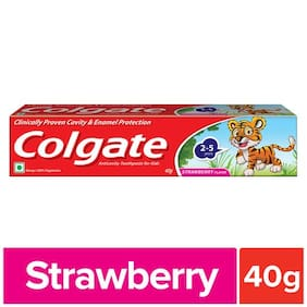 Colgate Kids Toothpaste Strawberry 40 g