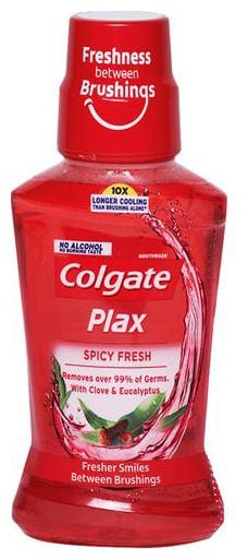 Colgate Mouthwash - Plax, Spicy Fresh 250 ml