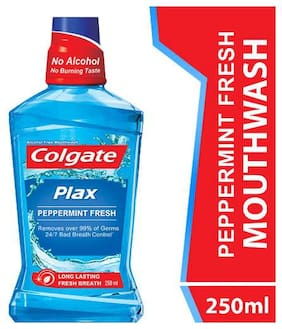 Colgate Plax Pepper Mint Mouthwash 250 ml