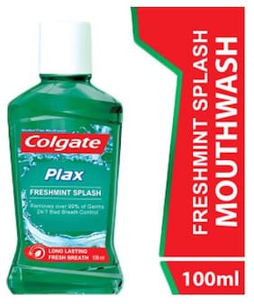Colgate Plax Fresh Mint Mouthwash 100 ml