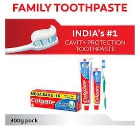 Colgate Toothpaste - Strong Teeth, Dental Cream, Anti Cavity 300 gm