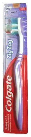 Colgate Toothbrush Zigzag  Soft Bristles 1 pc