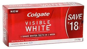 Colgate Toothpaste Visible White, Saver Pack 200 G