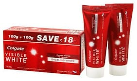Colgate Toothpaste Visible White  Saver Pack 200 g