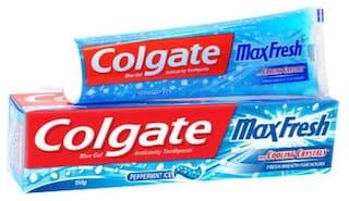 Colgate Toothpaste Maxfresh Blue Peppermint Ice  Gel 150 g