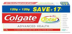 Colgate Toothpaste Total Advanced Health  Saver Pack 240 g