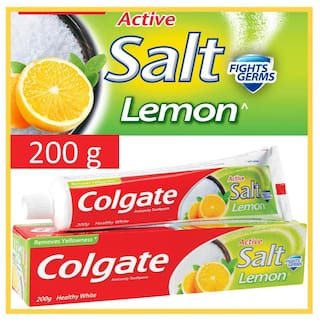 Colgate Toothpaste - Active Salt Lemon - 200 gm