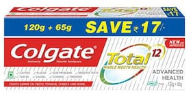 Colgate Total Advanced Health Anticavity Toothpaste 185 g