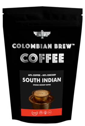 Colombian Brew coffee Strong Instant Coffee, 60-40 South Indian, 1kg