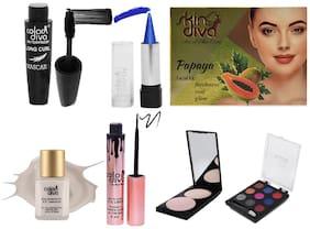 Color Diva & Skin Diva Beauty Make-Up Kit (CD-140) 164.5 g