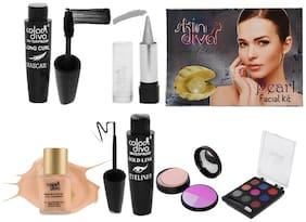 Color Diva & Skin Diva Beauty Make-Up Kit (CD-277) 164.5 g