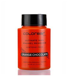 Colorbar Ultimate Nail Enamel Remover - Acetone Free Orange Chocolate 80 ml