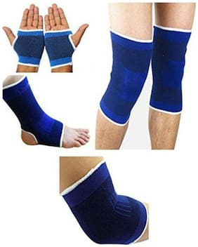 Combo 4pcs : Knee Ankle Elbow and Palm Supports by Skytop